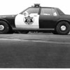 Police - Niagara County sheriffs Dept. New propaned fueled patrol cars.<br /> Photo - by Bob Bukaty 4/21/1983.