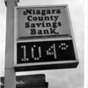 Banks - Niagara County Savings Bank<br /> Photo - L, C. Williams - 1/12/1980.