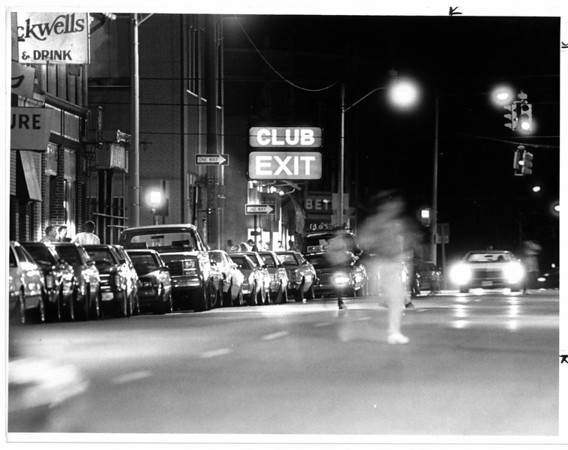 Streets - Third Street<br /> Third Street - Niagara Falls<br /> Photo - By James Neiss - 6/5/1988.