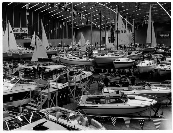 Convention Center<br /> Boat Show<br /> Photo - By Andrew J. Susty - 2/26/1982.