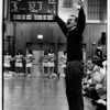 Sports - Patrick Monti<br /> Patrick Monti former LaSalle Boys Varsity Basketball Coach.<br /> Photo - By James Neiss - 2/11/1992.