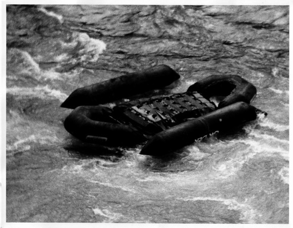 Niagara River - Raft Ride<br /> Photo - By Dan Shubsda - 9/30/1975.
