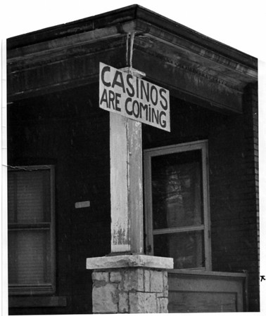 Gambling - Jobs<br /> Photo - By Andrew J. Susty - 1/23/1981.