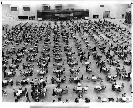 Convention Center<br /> Bridge Tournament<br /> Photo - By John Kudla - 3/19/1982.