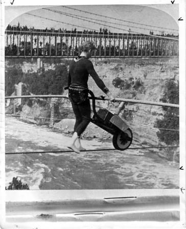 Stunters, Calverley Crossing 1893