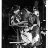 Christmas - Festival of Lights <br /> Pearl Bailey at Festival of Lights performance.<br /> Photo - By Niagara Gazette - 11/29/1981.