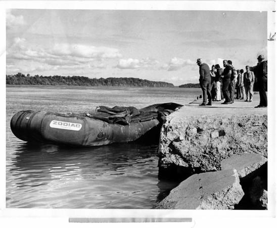 Nigara River, Raft Ride Sept 9, 1975