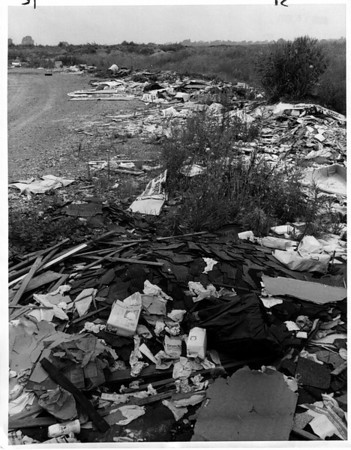 Environmental - Dump<br /> Former Niagara County Dump on Witmore Road.<br /> Photo - By Andrew J. Susty - 8/14/1981.