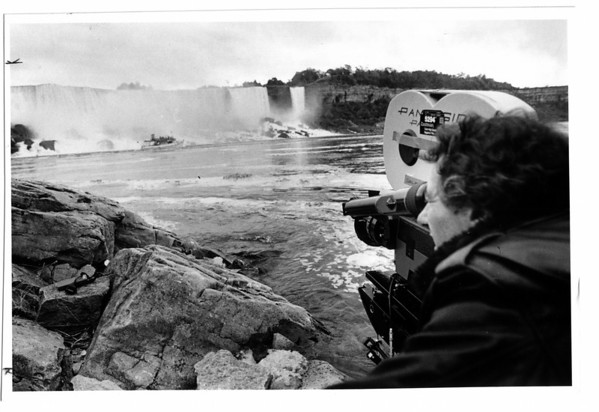 Niagara Falls, Movies, Director Mike Berkofsky shoots I love New York television add.<br /> <br /> Filming
