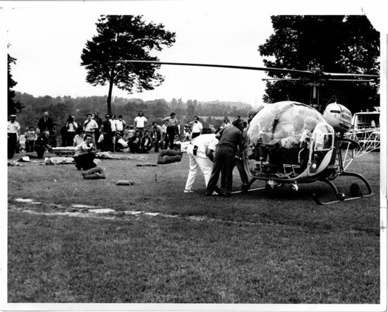 Nigara Falls, Rescue, River Raft Ride rescue Aug, 29, 1975 - Dan Shubsda phto.