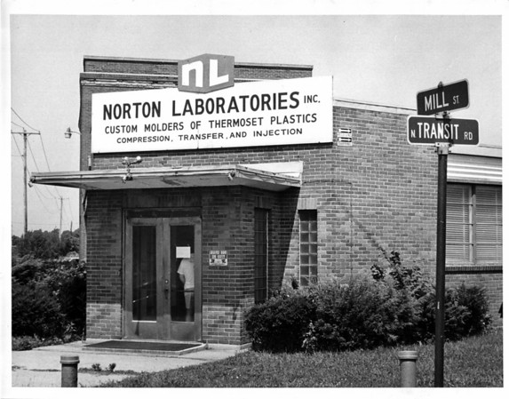 Industries - Norton Laboratory<br /> Photo - By Andrew J. Susty - 7/7/1981.