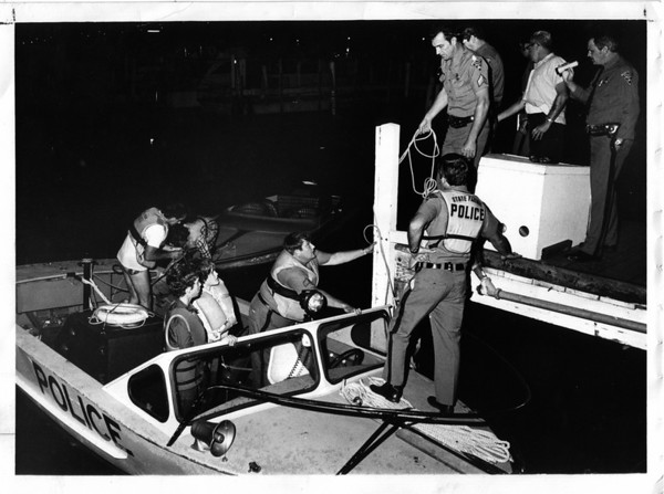 Niagara River - rescues<br /> Photo - By John Kudla - 9/30/1978.