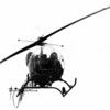 Hellicopter - Goat Island'Helicopter used in search.<br /> Photo - By Andrew J. Susty - 5/5/1982.