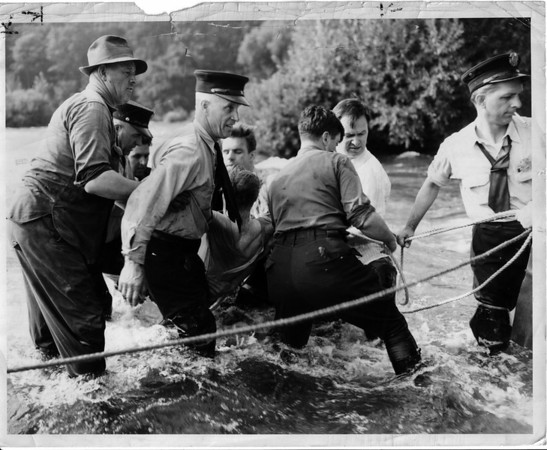 Niagara River Rescue 9/2/1952