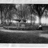 Parks - Porter Park<br /> A cannon representing the French Landing.<br /> Photo - Niagara Gazette
