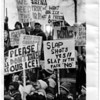 Parks - Hyde Park Ice Pavilion<br /> Protestors at E. Dent Lackey Plaza are protesting to keep Hyde Park Ice Pacilion.<br /> Photo - By Niagara Gazette 12/29/1982.