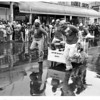 Parades - United Way<br /> Mount St. Mary's Hospital at United Way.<br /> Photo - By L. C. Williams - 9/13/1980.
