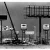 Billboards - Chevy<br /> on Chevy Place looking from Girard toward Niagara Falls Blvd.<br /> Photo - By Ron Schifferle - 2/24/1988.