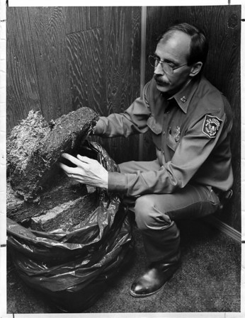 Police - U.S. Customs<br /> Terence Heugerin Supervisor U.S. Customs Mobile Enforcement Team.<br /> Photo - By Andrew J. Susty - 11/6/1981.