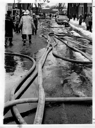Fires - Men<br /> Photo - By Niagara Gazette - 3/25/1965.