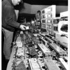 Convention Center<br /> Big Boys Like Toys<br /> Train show and sale at the Convention Center.<br /> Dieter Hentschel of Richester, N.Y. said he has been coming to this show for the last 4 to 5 years.<br /> Photo - By James Neiss - 12/7/1987.