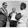 Sports - Baseball<br /> Plant City Florida.<br /> Ted Williams - Manager, Bob Short - Senators Owner, and Hector Lopez - named manager of Bisons in 1969. Lopez was the first black manager in an International League.<br /> Photo - By Bill Wolcott