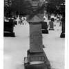 Niagara Falls, Stunters, Capt. Matthew Webb Grave, Oakwood Cemetery Feb 4, 1980.