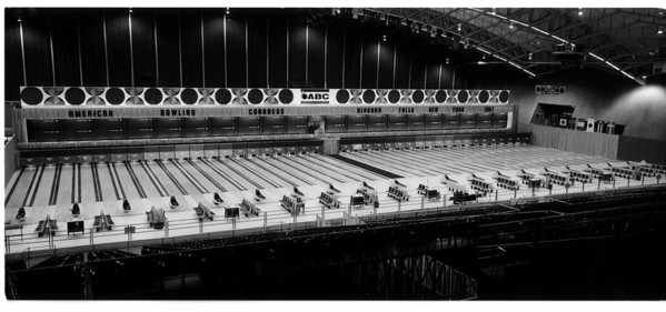Convention center - Bookings <br /> American Bowling Congress Niagara Falls New York 1987.