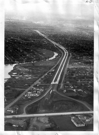 Streets - Niagara Falls<br /> LaSalle Expressway - Williams Road bottom of photo.<br /> Photo - By Niagara Gazette - 11/18/1970.
