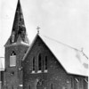 Churches - St. Peter's<br /> St. Peter's Church in Lewiston, N.Y.<br /> Photo - By Niagara Gazette - 2/8/1963.