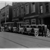Police - Niagara Falls<br /> South side Niagara Street between 2nd and 3rd Street.<br /> License plate has date 1929.