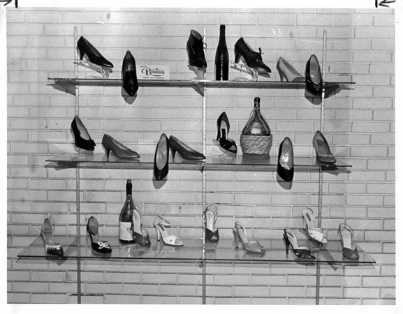 Shoes <br /> Photo - By L. C. Williams - 8/20/1980.