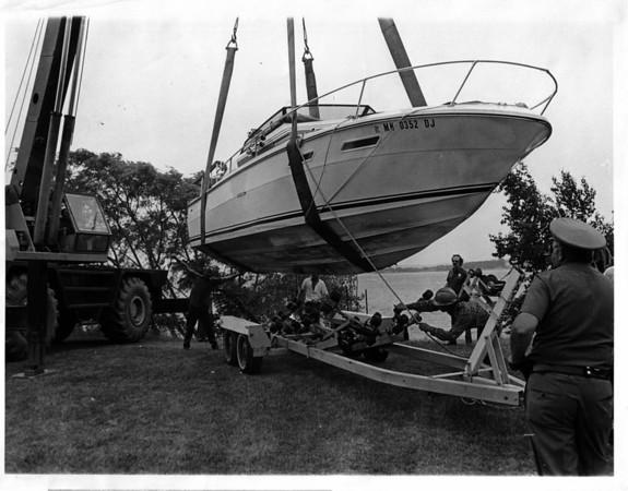 Niagara River - Rescues<br /> Photo - By Niagara Gazette - 6/15/1976.