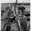 Power Companies - Niagara Power Project<br /> Big Lift -- Construction of the Robert Moses Niagara Power Plant of the New York Power Authority's Niagara Power Project is shown in this 1960 photo. Electricity was produced at the project the following year.<br /> Photo - By New York Power Authority - 1960.