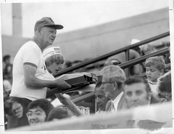 Sports - Baseball<br /> Tommy Grogen<br /> Photo - By L. C. Williams - 8/24/1974.