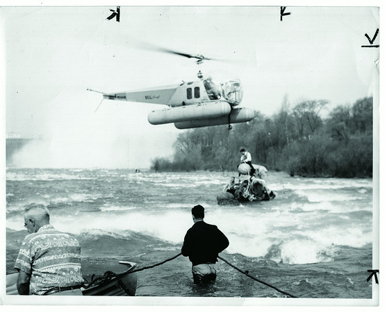 Niagara River, Rescue, Helicopter Crash - May 1950
