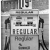 Gas Stations - Niagara Falls<br /> Photo - By l. C. williams - 3/4/1982.