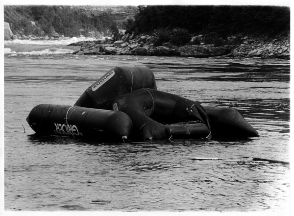 Niagara River - Raft Ride<br /> Photo - By Dan Shubsda - 9/3/1975.