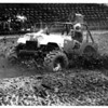 Convention Center<br /> Larry Smith from North Collins N.Y. in the Open Mud Racing Division.<br /> Photo - By Ron Schifferle - 9/19/1986.