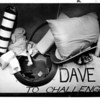 Niagara Falls, Stunters, Dave Munday - Dave Munday's barrel contained box of cotton, signal bouy, elbow protections, pink blanket, pipe to outside lid with plastic mouthpiece, foam batts, purple polka-dotted pillow. It was lined with foam and had 2 GM seat belts inside. 9/26/1987 Lisa Massey photo.