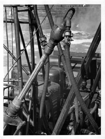 Niagara Falls - Remedial Work, 1966<br /> Photo - By Niagara Gazette - 4/4/1966.