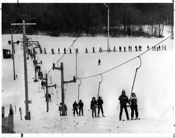 Parks - Bonds Lake<br /> Bonds Lake December 29, 1981.<br /> Photo - By John Kudla 12/29/1981.