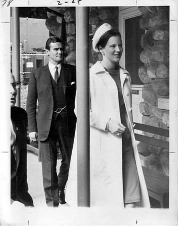 Niagara Falls, Royalty, Princess Margarette 9/25/1967 - (Avine Henrich SP? Left.)