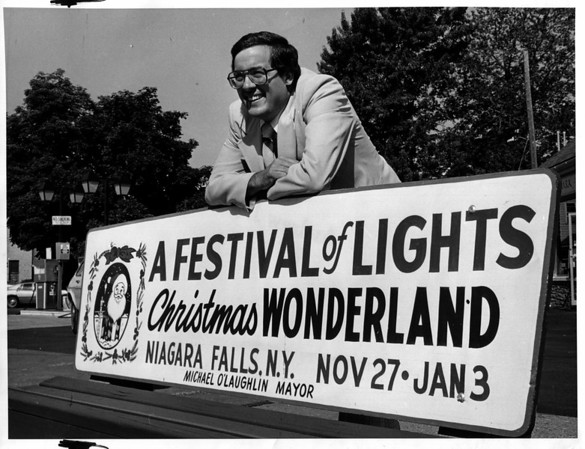 Christmas - Festival of Lights<br /> Photo - Andrew J. Susty - 1981.