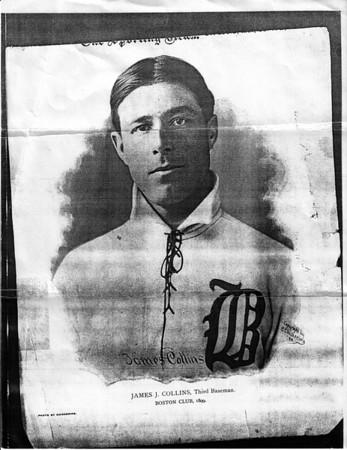 Sports James J. Collins, Third Baseman, Boston Club  1899