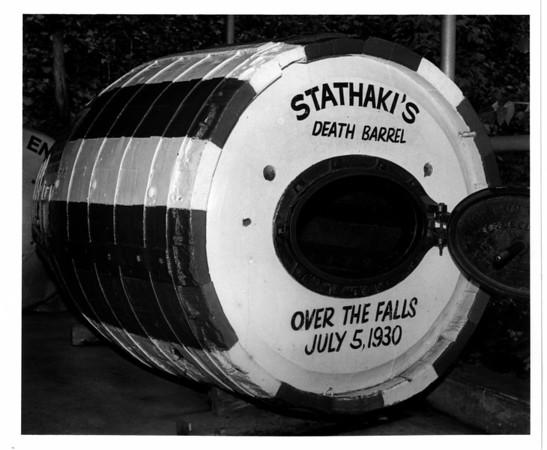Niagara Falls, Stunter, Stathaki's Death Barrel 10/30/1988 Melissa Mahan.