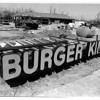 Commercial - Burger King<br /> New Burger King & NYS Information Center on Grand Island Blvd.<br /> Photo - By James Neiss - 4/22/1988.