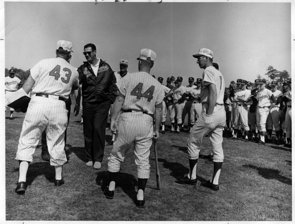 Sports - Baseball<br /> Ted Williams - Training.<br /> Photo - By Bill Wolcott.