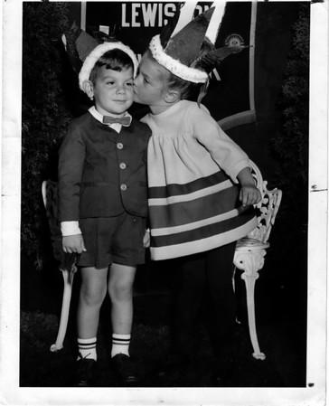 Entertainment - Peach festival<br /> 1967 Peach Festival David M. Lanish winner for Peach Fizz along with Jill Halhn winner of Peach Blossom.<br /> Photo L. C. Williams 9/11/1967.