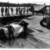 Niagara River - Rescues<br /> Divers Draping Body<br /> Recovering car and body from Niagar at Lewiston Sand Docks After discovered by a recreational diver.<br /> Photo - By Lisa Massey - 6/4/1987.